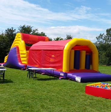 Big Obstacle Course for Hire in Limerick