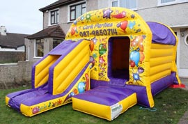 Bounce House with Slide Limerick